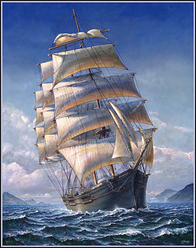 four masted barque